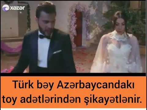 Türk bəy Azərbaycan adətlərindən şikayətlənir (Qız qaçırtma filmi)