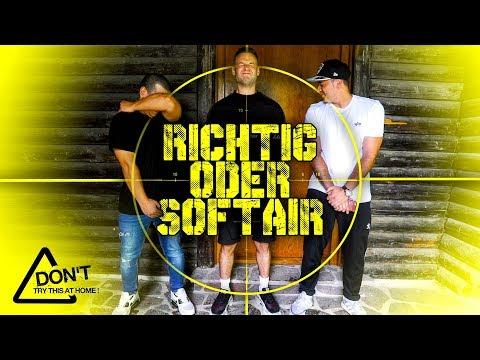 Richtig oder Softair COMEBACK  Mit Sascha, Shpendi, Peter  inscope21
