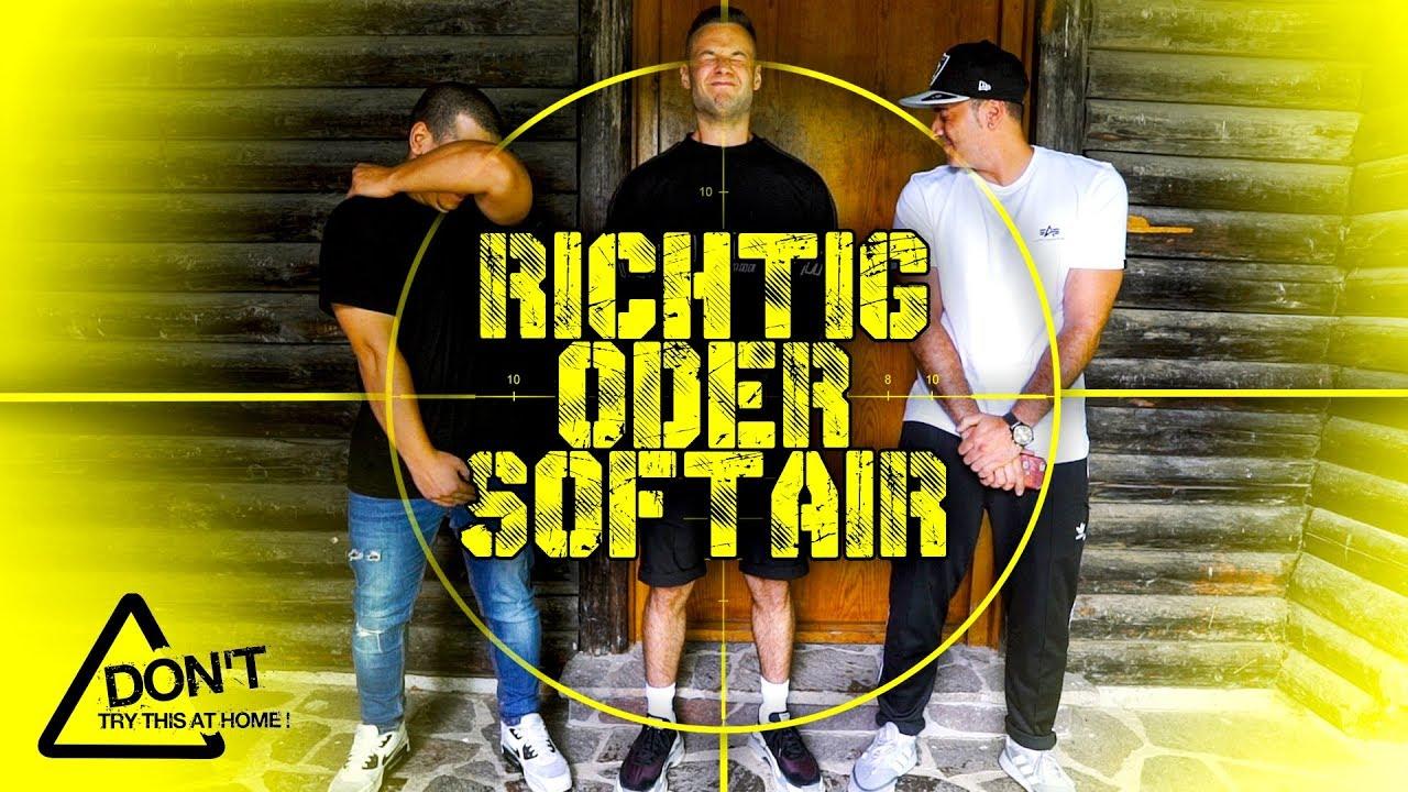 Richtig oder Softair COMEBACK | Mit Sascha, Shpendi, Peter | inscope21