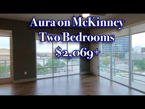 aura on mckinney two bedrooms youtube youtube