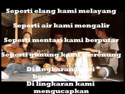 Lingkaran Aku Cinta Padamu - Sawung  (cover) Iwan fals