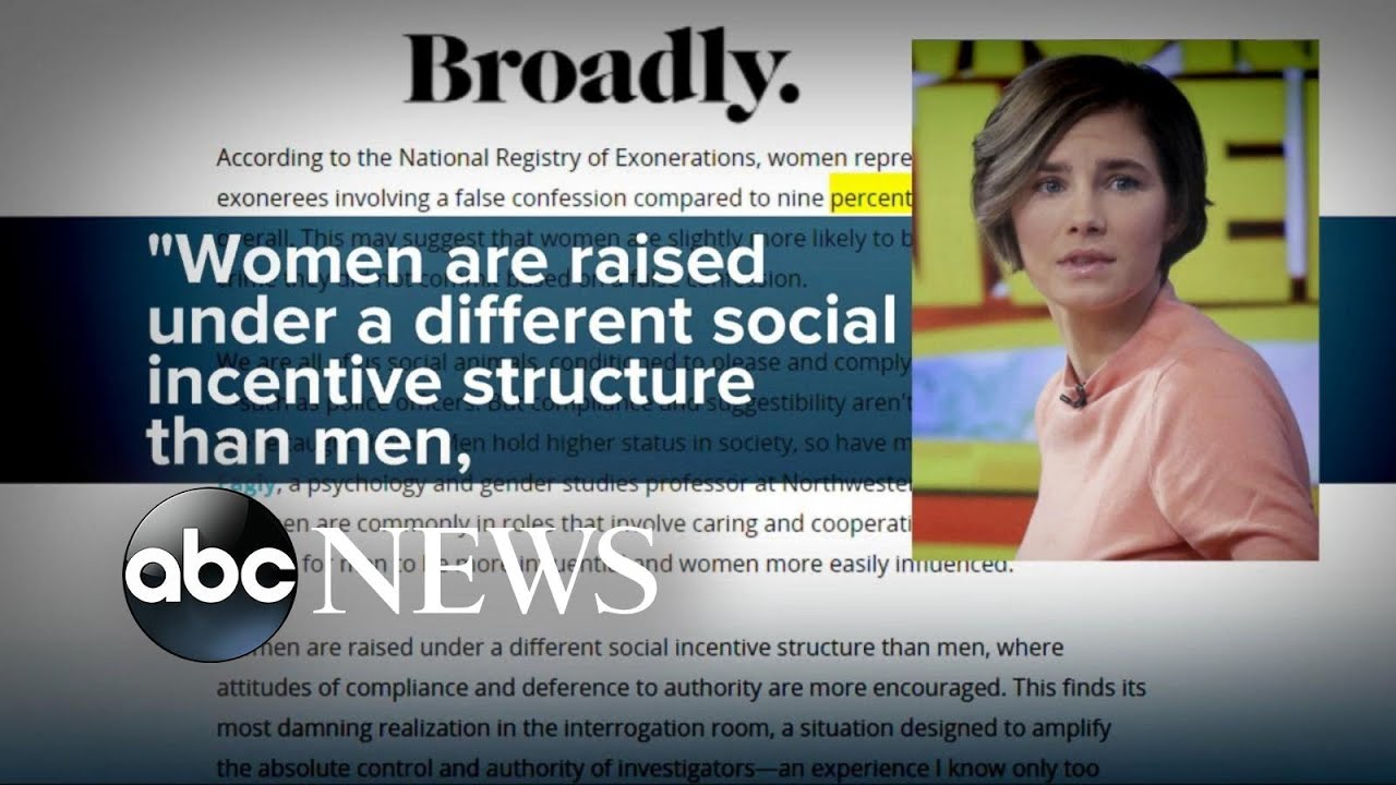 amanda knox pens essay on why women confess amanda knox pens essay on why women confess