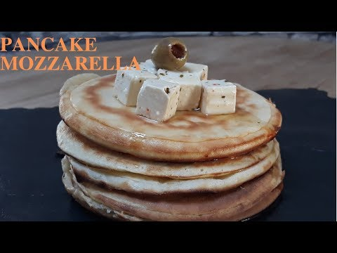 pancakes-salées-mozzarella