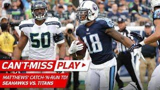 Rishard Matthews' Catch-'n-Run TD w/ Sick Spin Move! | Can't-Miss Play | NFL Wk 3 Highlights thumbnail