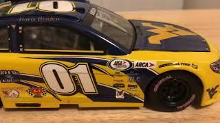 Travis Braden's 2017 West Virginia University Chevrolet 1/24 Diecast Review