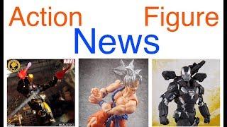 Action Figure News #173 Mezco Iron Man SHF War Machine Neca Emissary Predator Revoltech Venom & More
