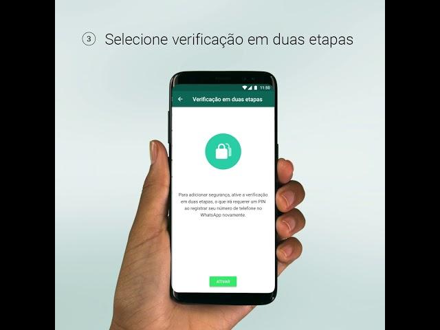 Evite Golpes, mantenha seu WhatsApp mais seguro.