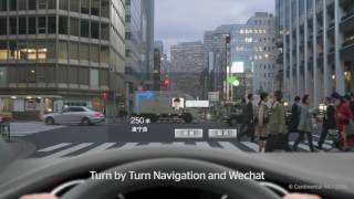 HUD Combiner Head-up Display for sports cars and smaller cars