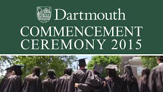 Dartmouth College 2015 Commencement Exercises