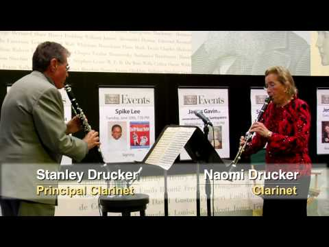 Stanley Drucker: Offstage at Barnes & Noble (8 of 8)