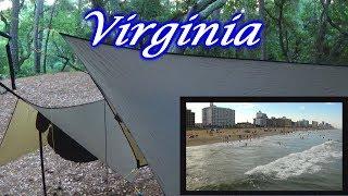 First Landing State Park in Virginia - Hammock Camping & Hiking