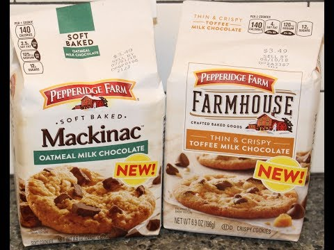 Pepperidge Farm Mackinac Oatmeal Milk Chocolate and Toffee Milk Chocolate Cookie Review