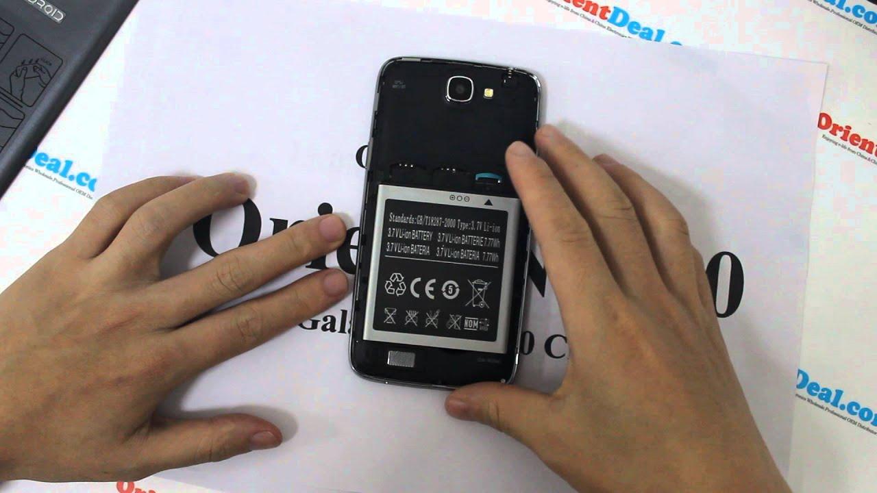 Samsung Galaxy S4 Clone - I9500 - Orient N9500 - Dual SIM ...