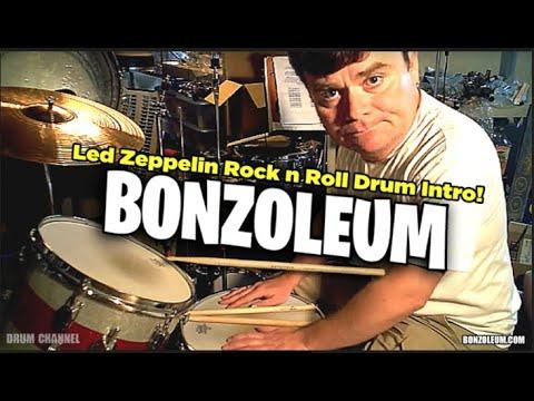 Led Zeppelin ROCK & ROLL DRUM INTRO!! John Bonham
