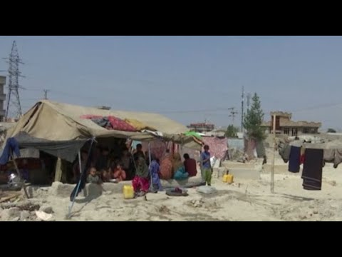 Kabul residents hope for international help