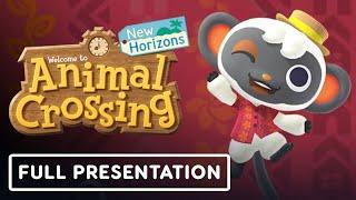 Animal Crossing: New Horizons Direct Full Presentation (October 15, 2021)