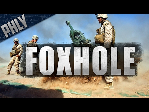 FOXHOLE - Multicrew Artillery Support (Foxhole Gameplay)