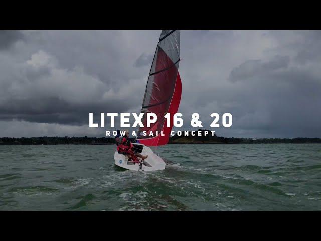 Enjoying row & sail boats in Britanny : LiteXP 16 & LiteXP 20 by Liteboat