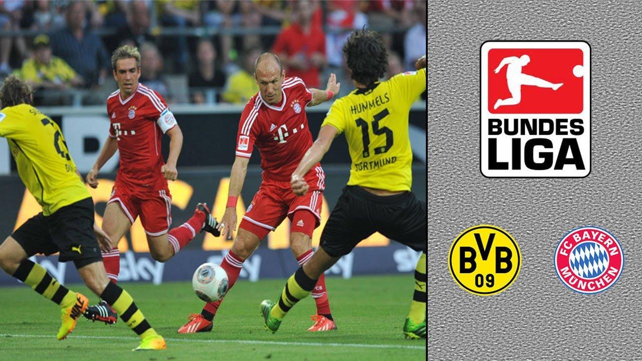 Bayern Dortmund Anstoß