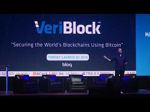 Matthew Roszak - Bloq - The North American Bitcoin Conference 2018