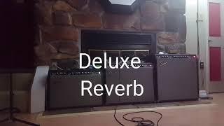 Fender Deluxe Reverb vs. Twin Reverb vs. Super Reverb