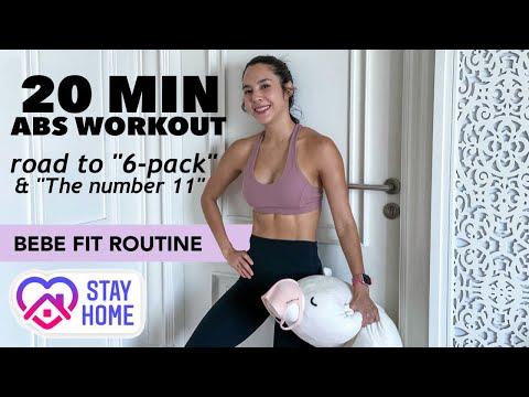20นาที abs workout หนทางสู่ ร่อง11 และ 6-pack