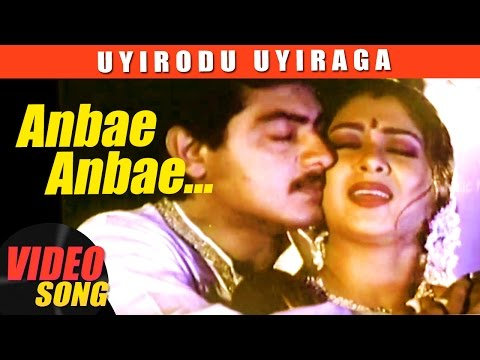 Anbe Anbe  Song  Uyirodu Uyiraga Tamil Movie Songs  Ajith  Richa Ahuja  Vidyasagar