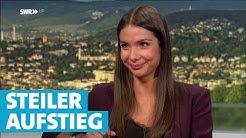 SWR Sport-Moderatorin Lea Wagner liebt Fussball