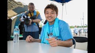 川崎フロンターレのファン感謝デー史上最高の10323名もの皆さんに来場し...