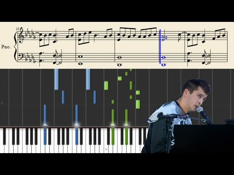 Tyler Joseph (of tøp) - Blasphemy - Piano Tutorial + Sheets