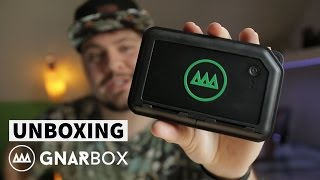 GNARBOX unboxing ▶︎ Editing 4K with your phone