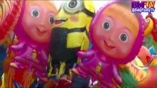 balon karakter mainan   balon boboiboy  masha  doraemon  nemo  ipin upin  minion  spongebob