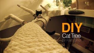 Diy Cat Tree | Cattree | Kratzbaum | D.i.y. | Karl & Elmo