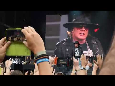 Guns N' Roses - Welcome To The Jungle [Live at Ullevi, Sweden 2018-07-21]