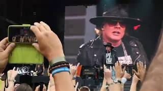 Guns N 39 Roses Welcome To The Jungle Live At Ullevi Sweden 2018 07 21
