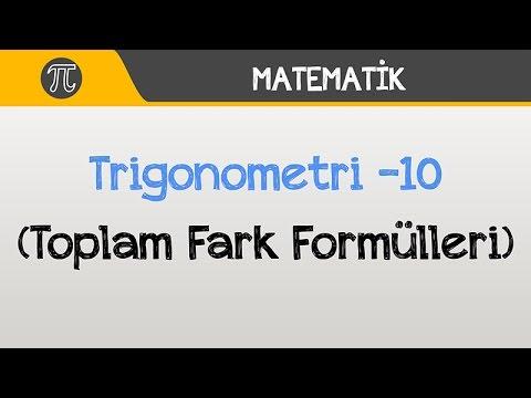 Trigonometri -10 (Toplam Fark Formülleri) | Matematik | Hocalara Geldik