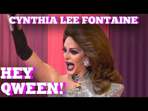 CYNTHIA LEE FONTAINE of RUPAUL'S DRAG RACE Season 9 on HEY QWEEN!