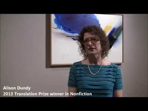 Interview: Translation Prize Nonfiction winner Alison Dundy 5