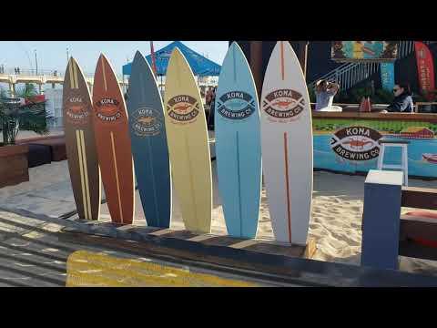 AVP Pro Beach Volleyball In Huntington Beach
