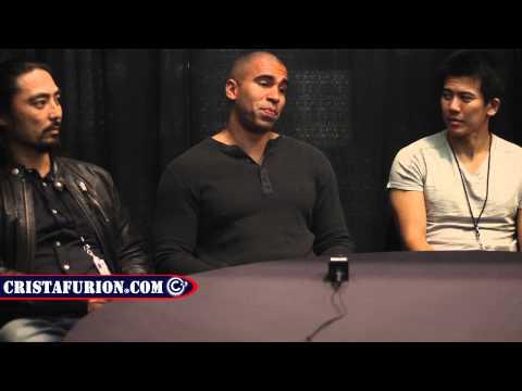 NYCC 2014 Street Fighter: Assasin's Fist Interview w/ Akira Koieyama, Joey Ansah, and Gaku Space!
