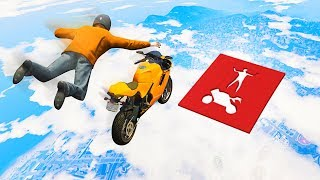 1,000,000 IQ IMPOSSIBLE BIKE STUNTS! (GTA 5 Funny Moments)
