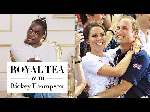 Proof That Royals Have a Totally Normal Lifestyle—with Rickey Thompson  Royal Tea  Harper&39;s BAZAAR