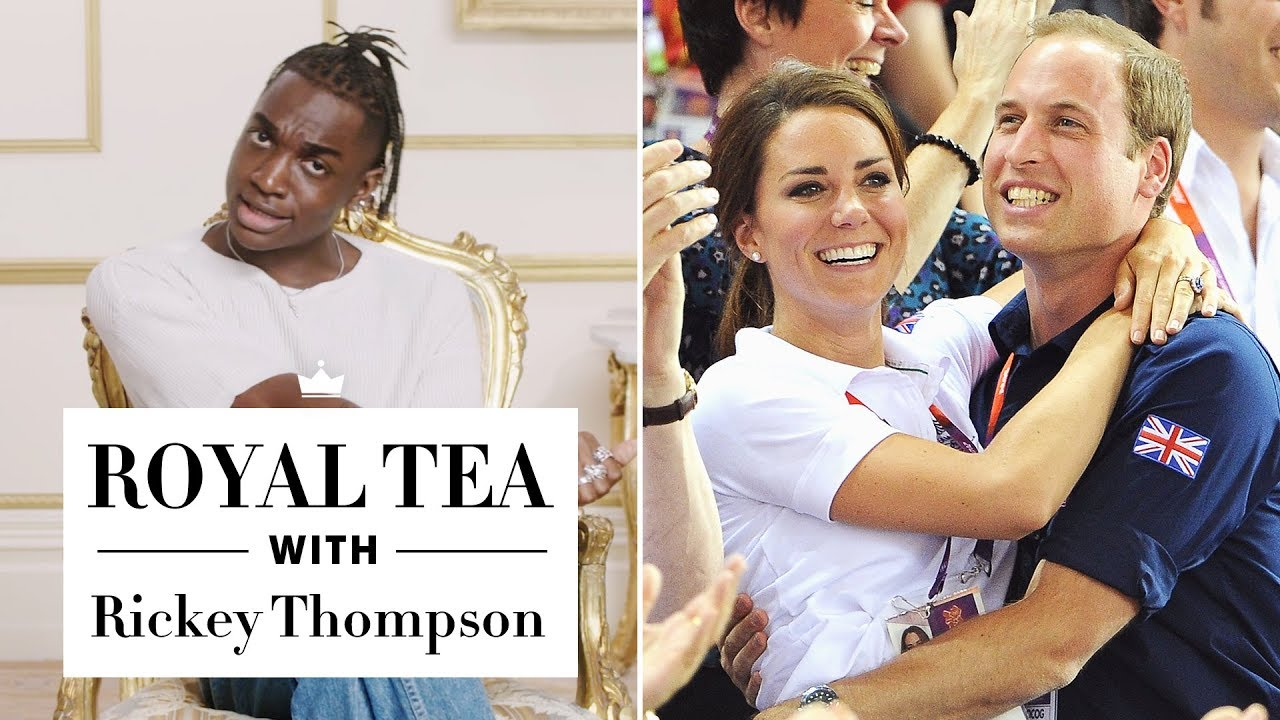 Proof That Royals Have a Totally Normal Lifestyle—with Rickey Thompson | Royal Tea | Harper's BAZAAR
