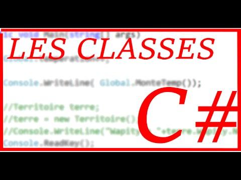 [TUTO] Les classes en C#