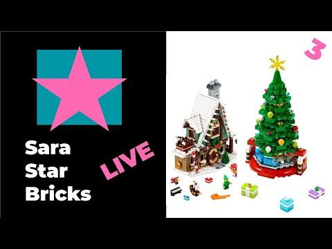 lego-live-🎥-building-elf-club-house-10275- -part-3- -christmas-marathon-#legolive