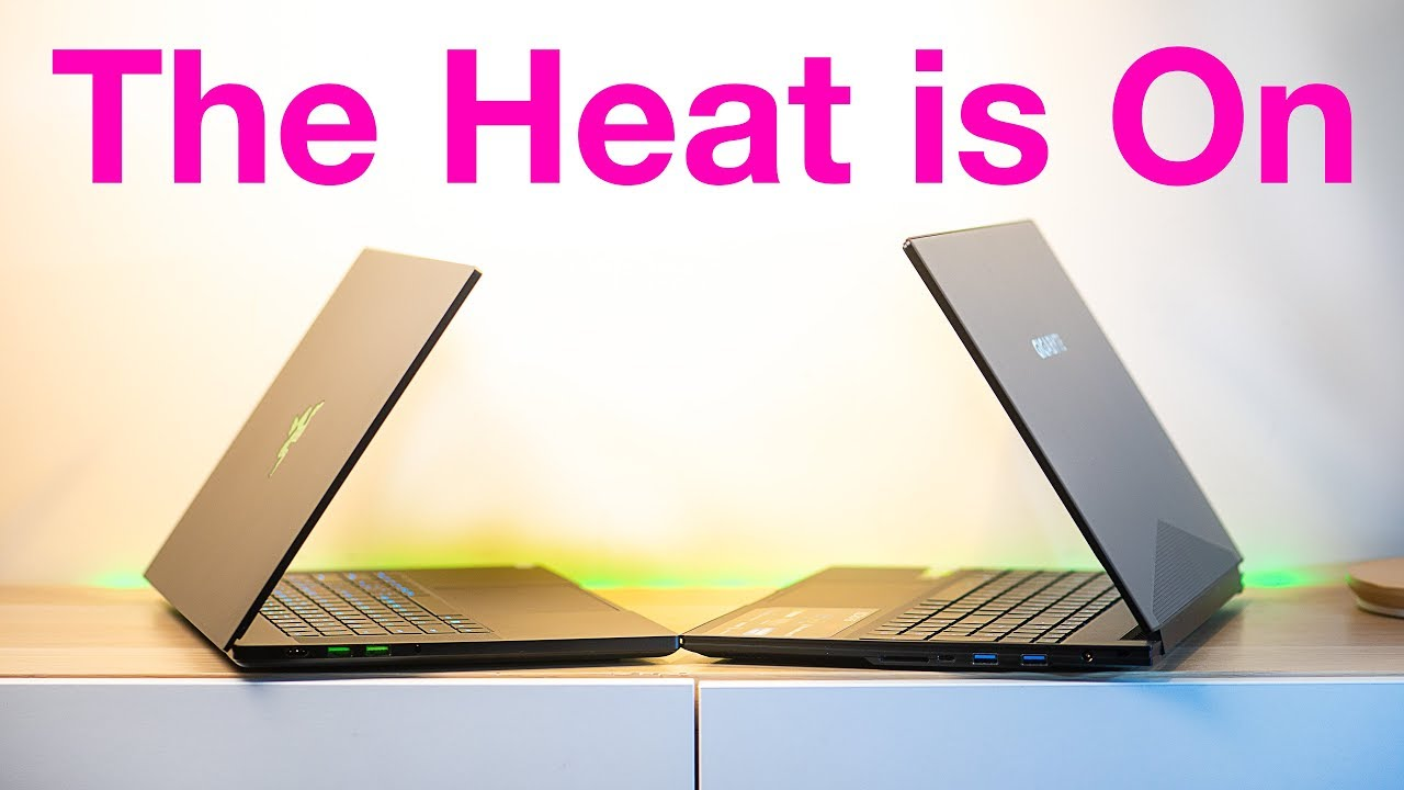 Razer Blade Vs Aero 15 - Which One is Faster & Who Can Stand the Heat?