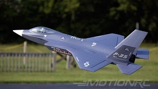 Freewing 70mm F-35 4s EDF w/Thrust Vectoring Flight Review
