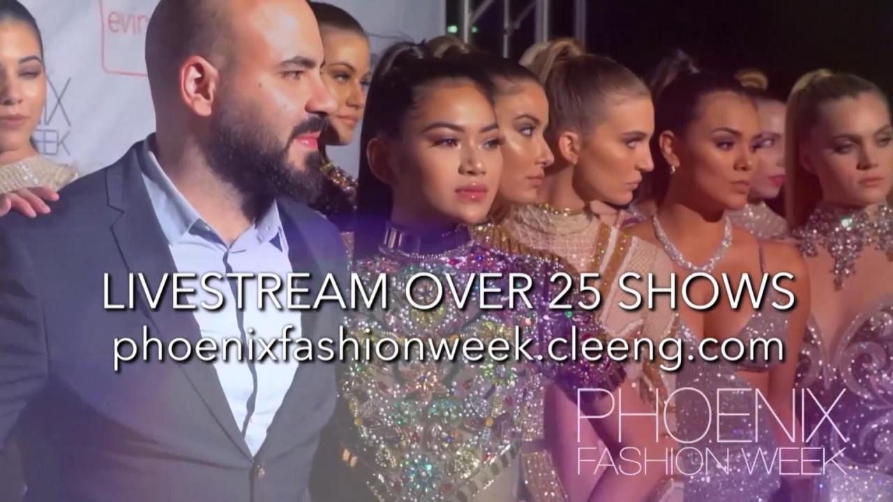 Phoenix Fashion Week LIVESTREAM Cox Media Commercial