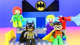 Download Lego Duplo Batcave Challenge Joker & Poison Ivy Team Up To Fight Batman Learning Colors Fun Mp3 and Videos