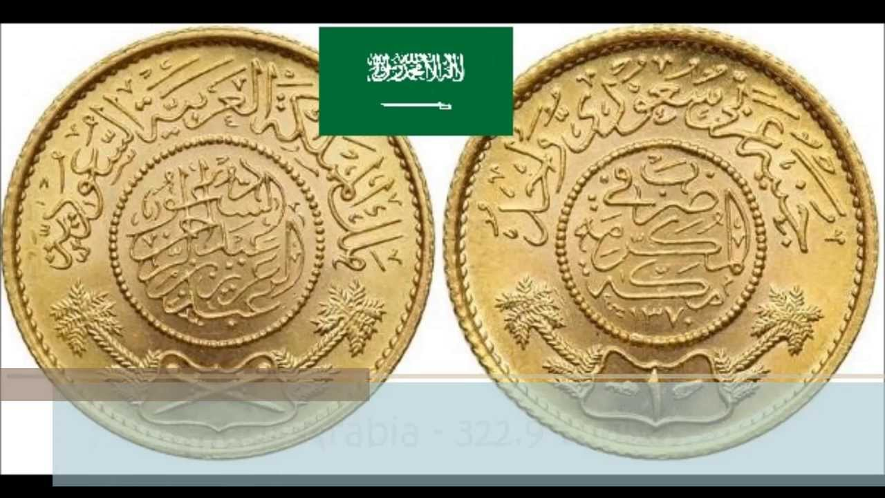 Arab Countries With The Largest Gold Reserves YouTube - 10 countries with the largest gold reserves